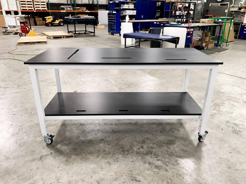 custom lab table