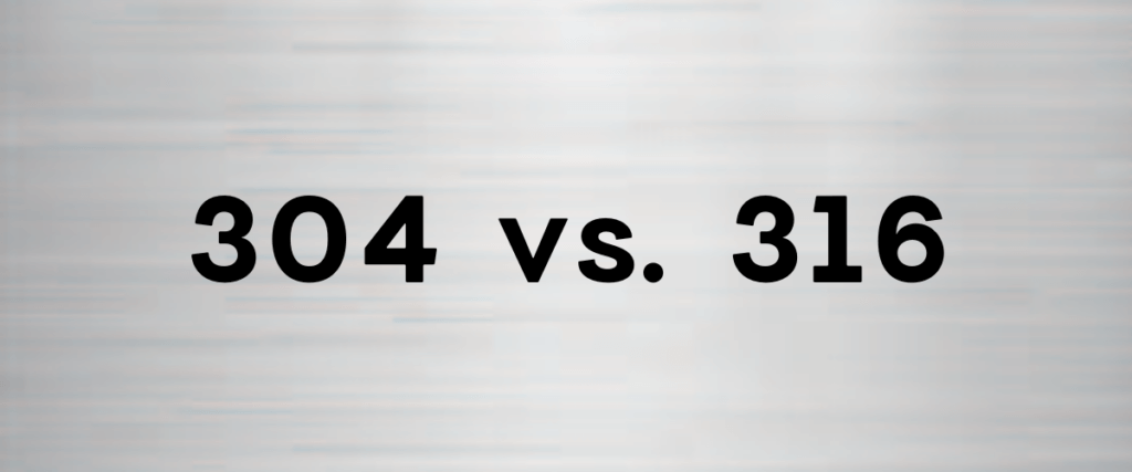 Difference between stainless steel 304 and 316