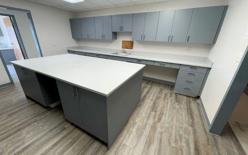 hospital reception cabinets