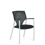 Zooey Contemporary Mesh Guest Chair