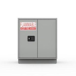 Double Flam Acid Cabinet